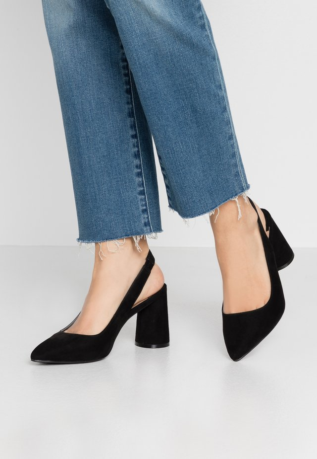 ONLPIXIE HEELED SLINGBACK  - High Heel Pumps - black