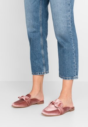 ONLBATIDA SLIP ON - Mules - light pink