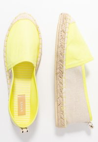 ONLY SHOES - ONLEVA - Espadrilles - neon yellow - 3