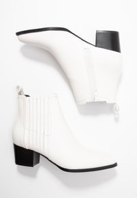 ONLY SHOES - ONLTOBIO - Ankle boots - white - 3