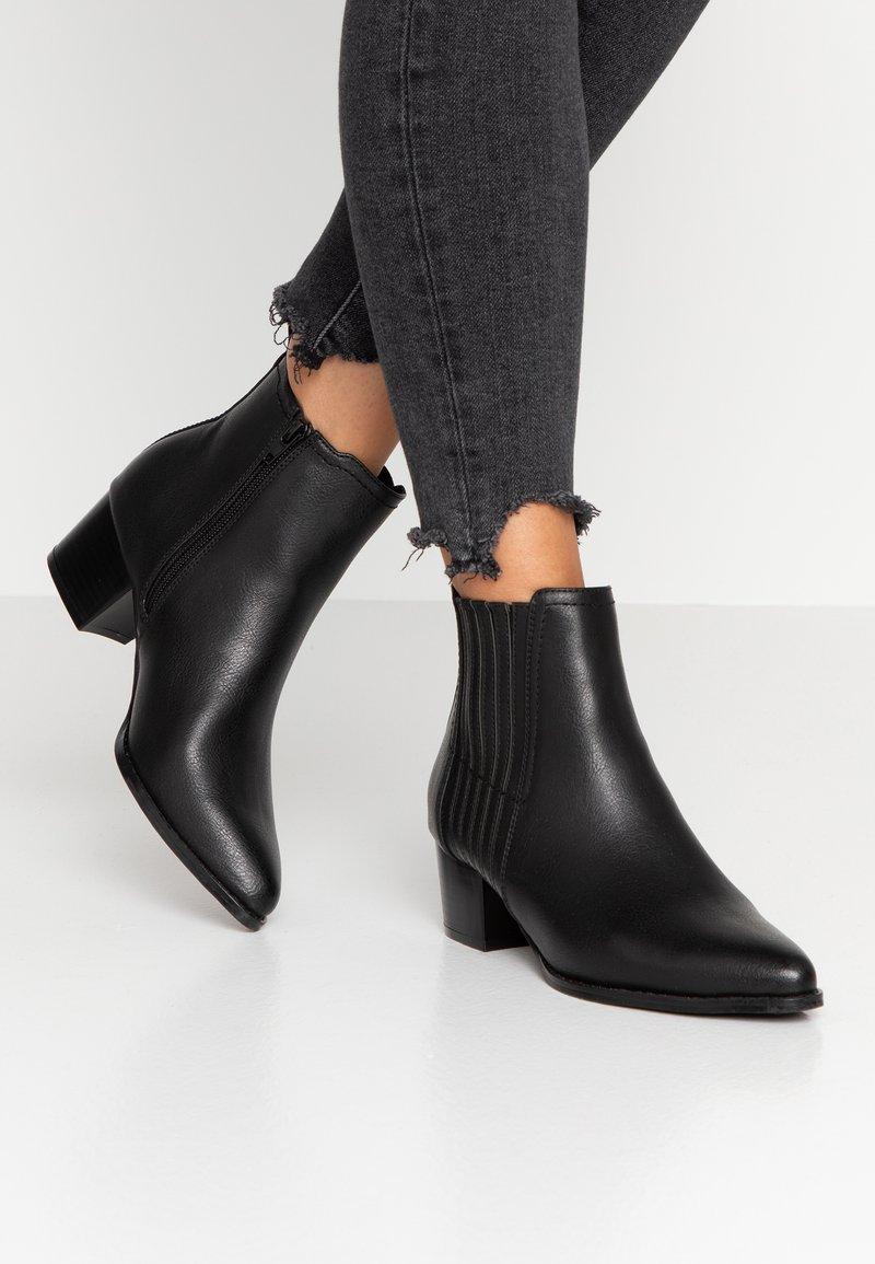 ONLY SHOES - ONLTOBIO - Ankelstøvler - black