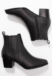 ONLY SHOES - ONLTOBIO - Boots à talons - black - 3