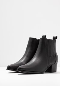 ONLY SHOES - ONLTOBIO - Boots à talons - black - 4
