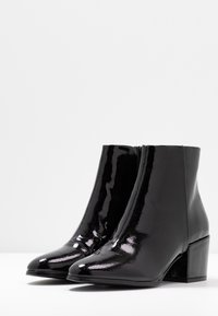 ONLY SHOES - ONLBELEN ZIP - Ankle boots - black - 4