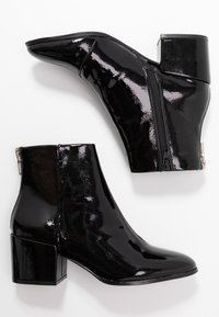 ONLY SHOES - ONLBELEN ZIP - Ankle boots - black - 3