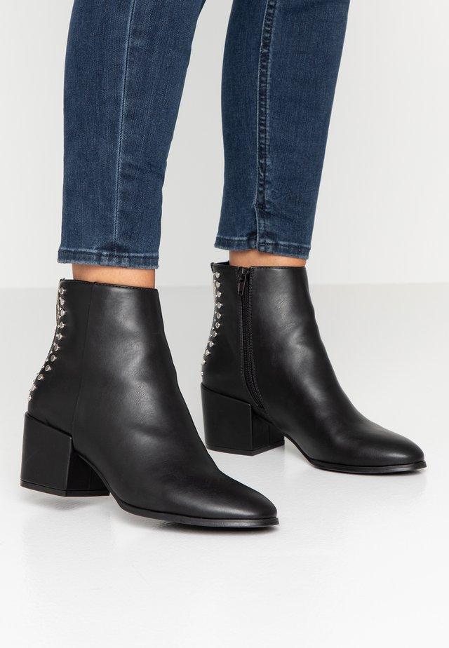 ONLBELEN STUD BOOTIE - Classic ankle boots - black