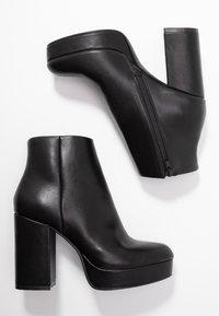 ONLY SHOES - ONLBRIN - Kotníková obuv na vysokém podpatku - black - 3