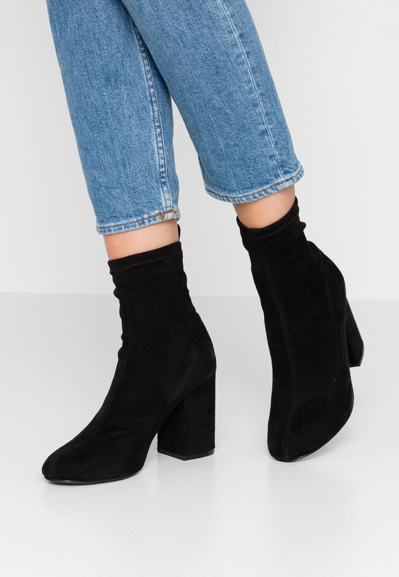 ONLY SHOES - BETTE SHORT  - High Heel Stiefelette - black