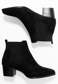 ONLY SHOES - TOBIO CHELSA - Boots à talons - black - 3