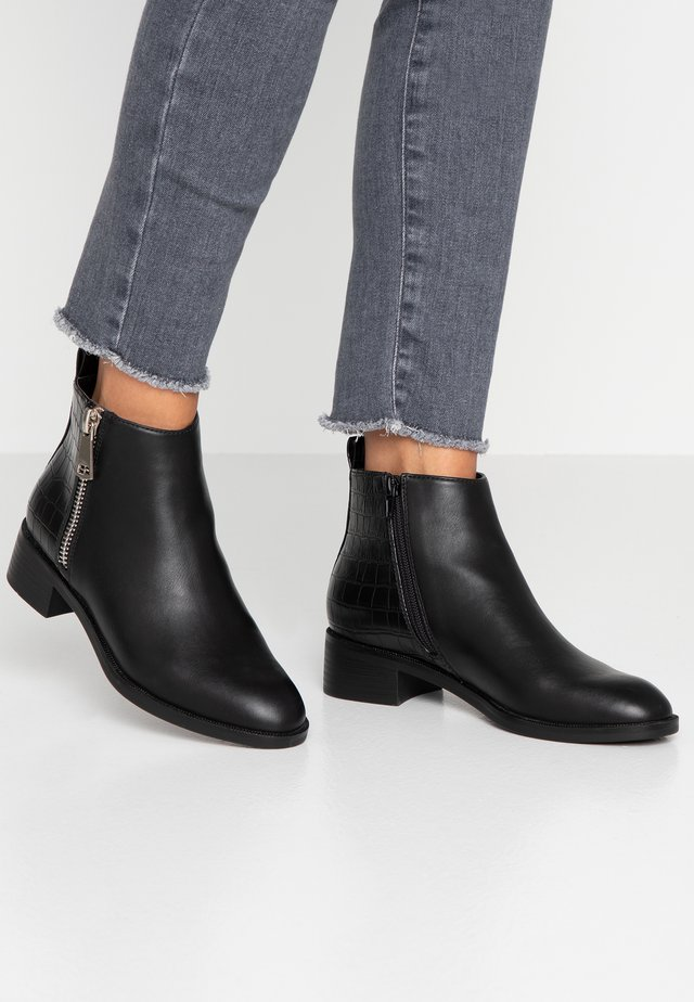ONLBRIGHT - Ankle boots - black