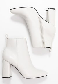 ONLY SHOES - ONLBRODIE  - Ankelboots med høye hæler - white - 3