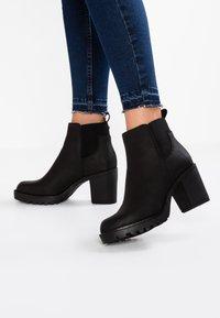 ONLY SHOES - Boots à talons - black - 0