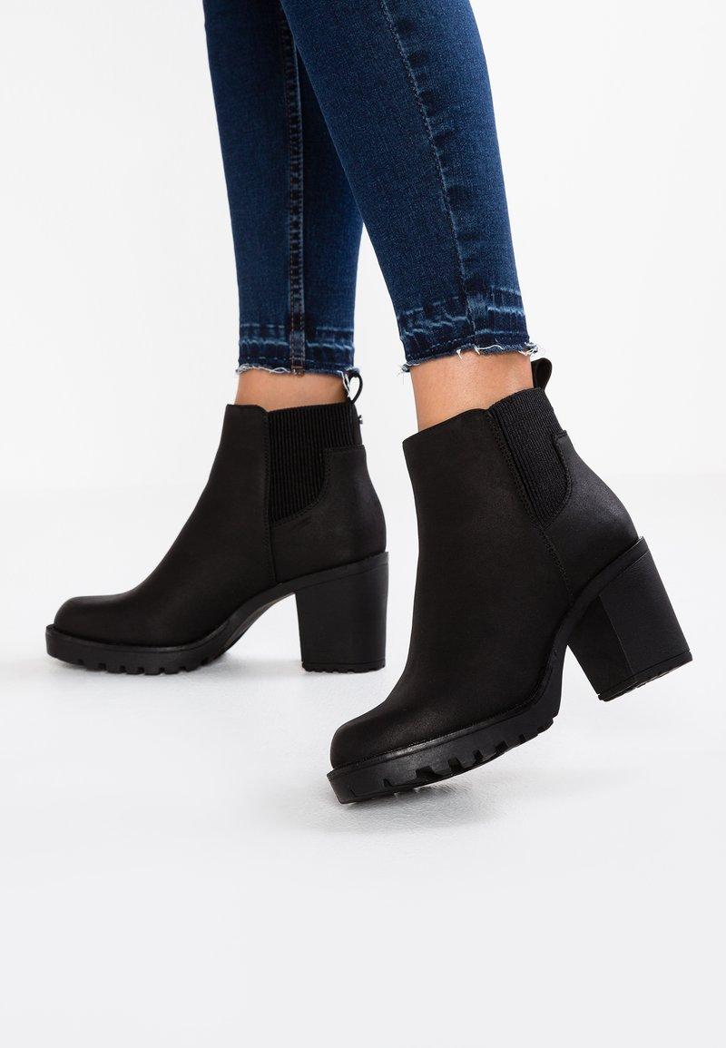 ONLY SHOES - Korte laarzen - black
