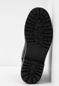 ONLY SHOES - ONLBOLD LACE UP - Šněrovací kotníkové boty - black - 6