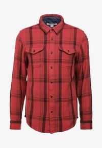 Outerknown - BLANKET - Skjorte - dusty red cusco - 4