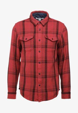 BLANKET - Skjorte - dusty red cusco