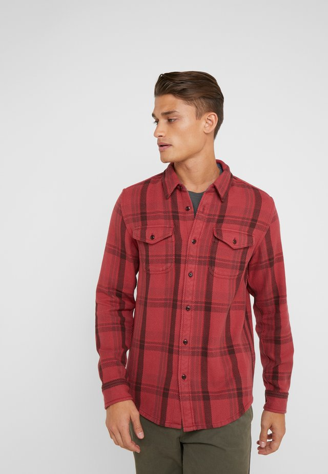 BLANKET - Chemise - dusty red cusco