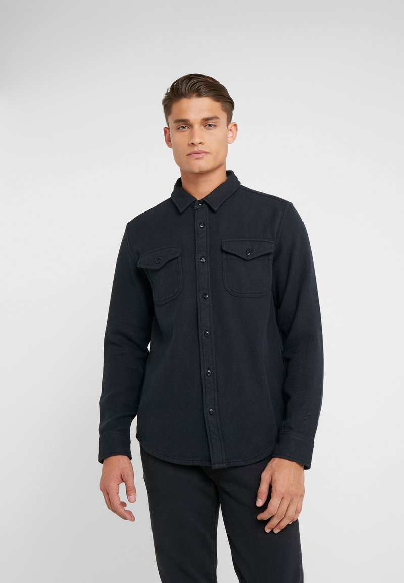 Outerknown - BLANKET - Shirt - pitch black