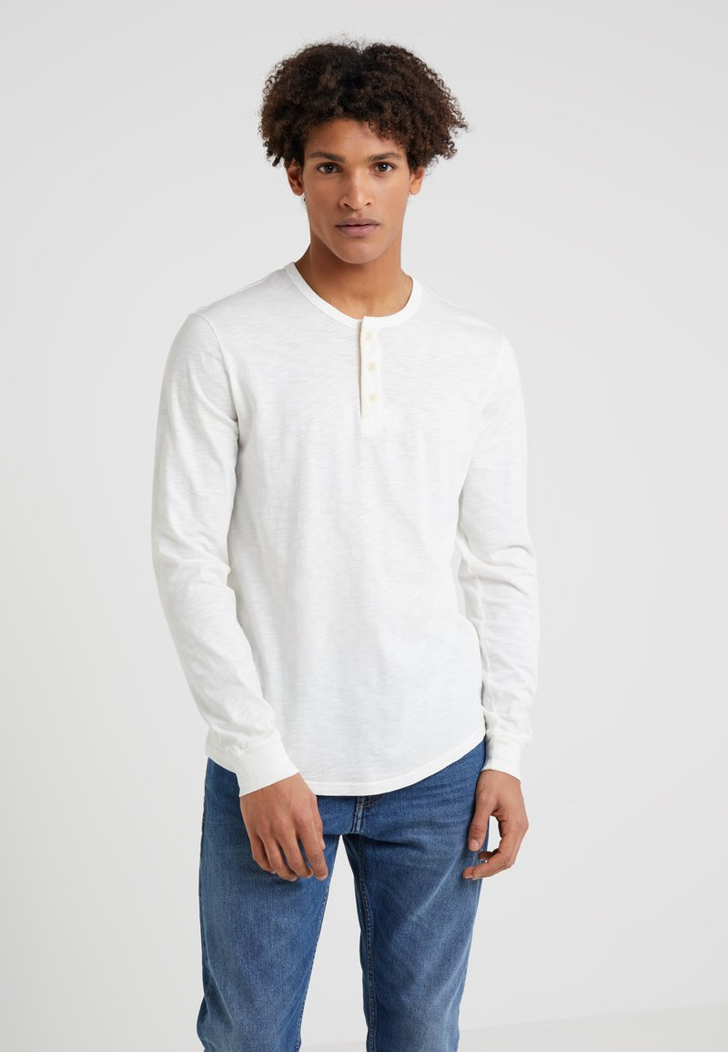 Outerknown - TRAILS HENLEY - T-shirt à manches longues - whitewater