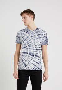 Outerknown - TRIPPY TEE - T-shirt imprimé - navy - 0