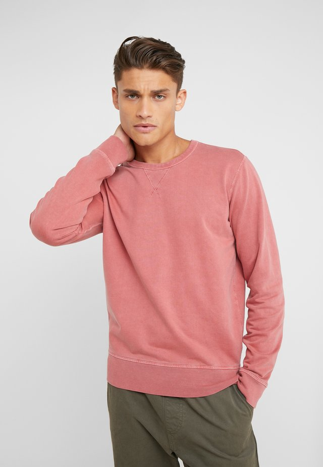 STOWAWAY CREW - Sweater - mineral red