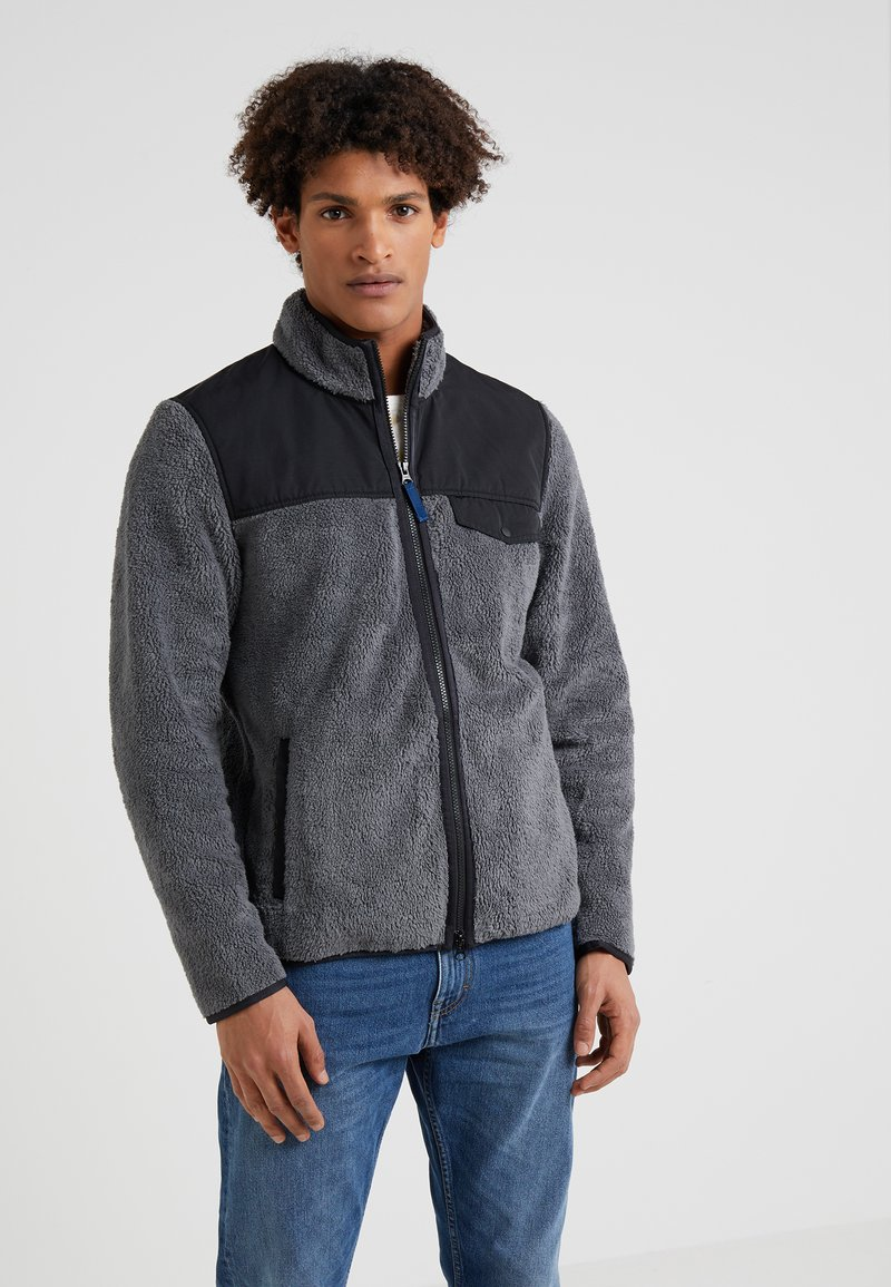 Outerknown - DUSK JACKET - Fleece jacket - grey