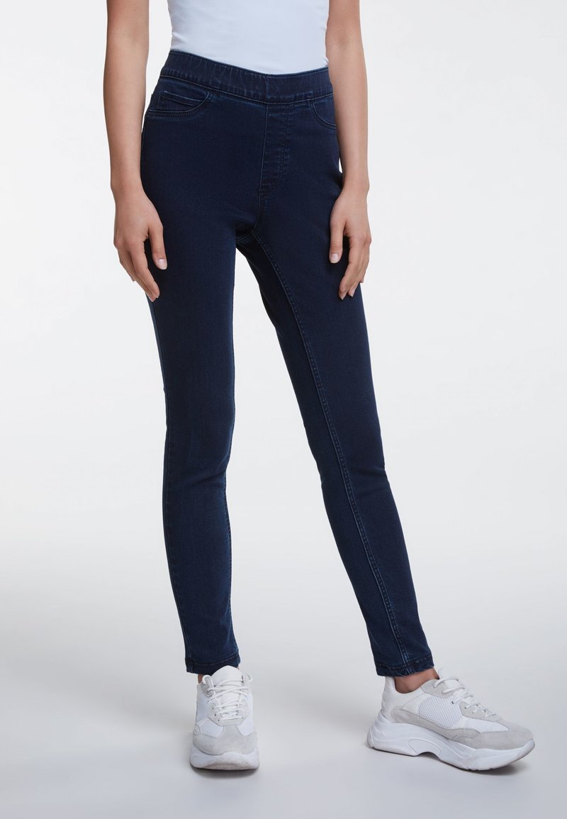 Oui - Jeggings - blue
