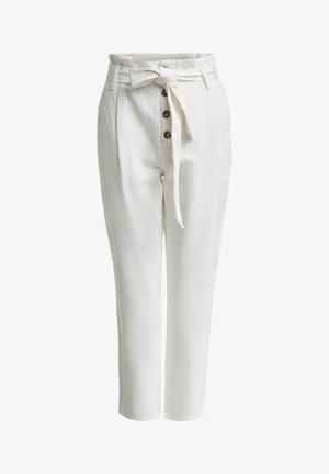 Trousers - gardenia