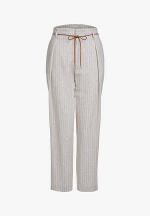 PAPERBAGHOSE - Trousers - white camel