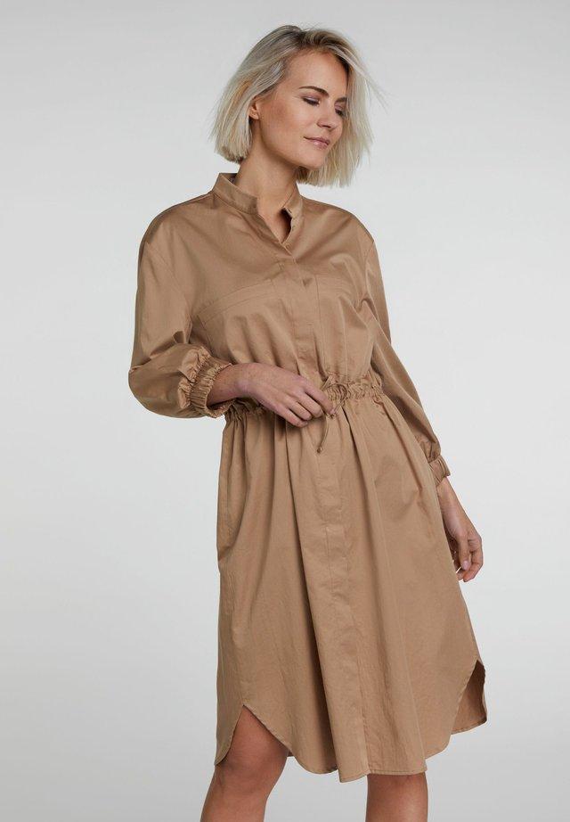 Blusenkleid - camel
