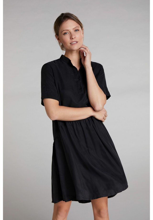 Shirt dress - caviar