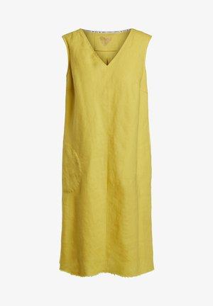 Day dress - primrose yellow