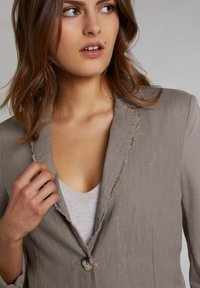 Oui - Blazer - light khaki - 3