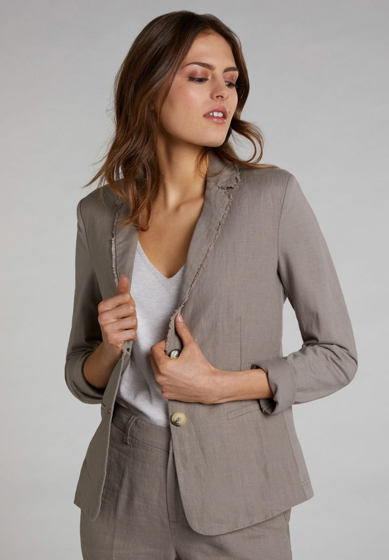 Oui - Blazer - light khaki