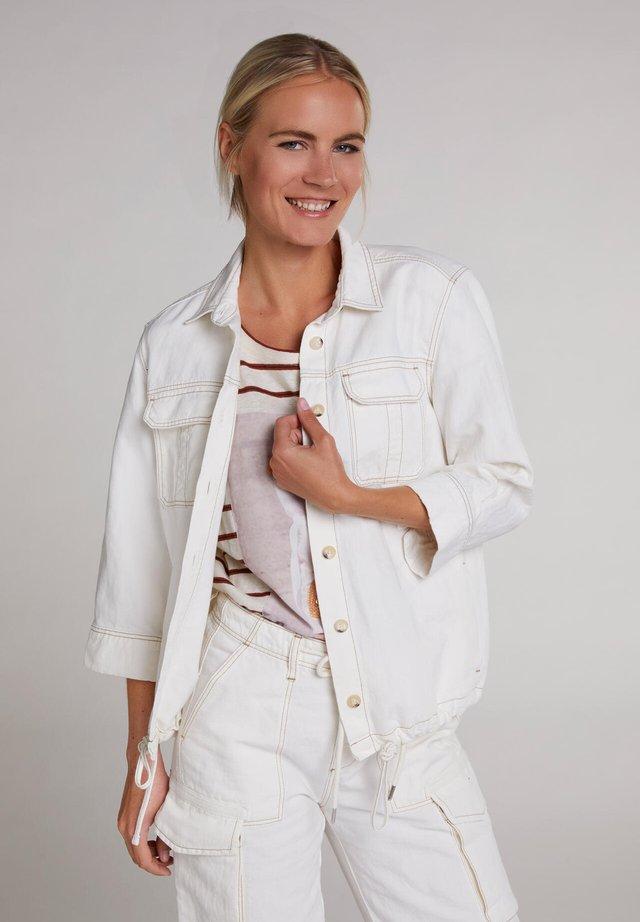 Outdoorjas - antique white