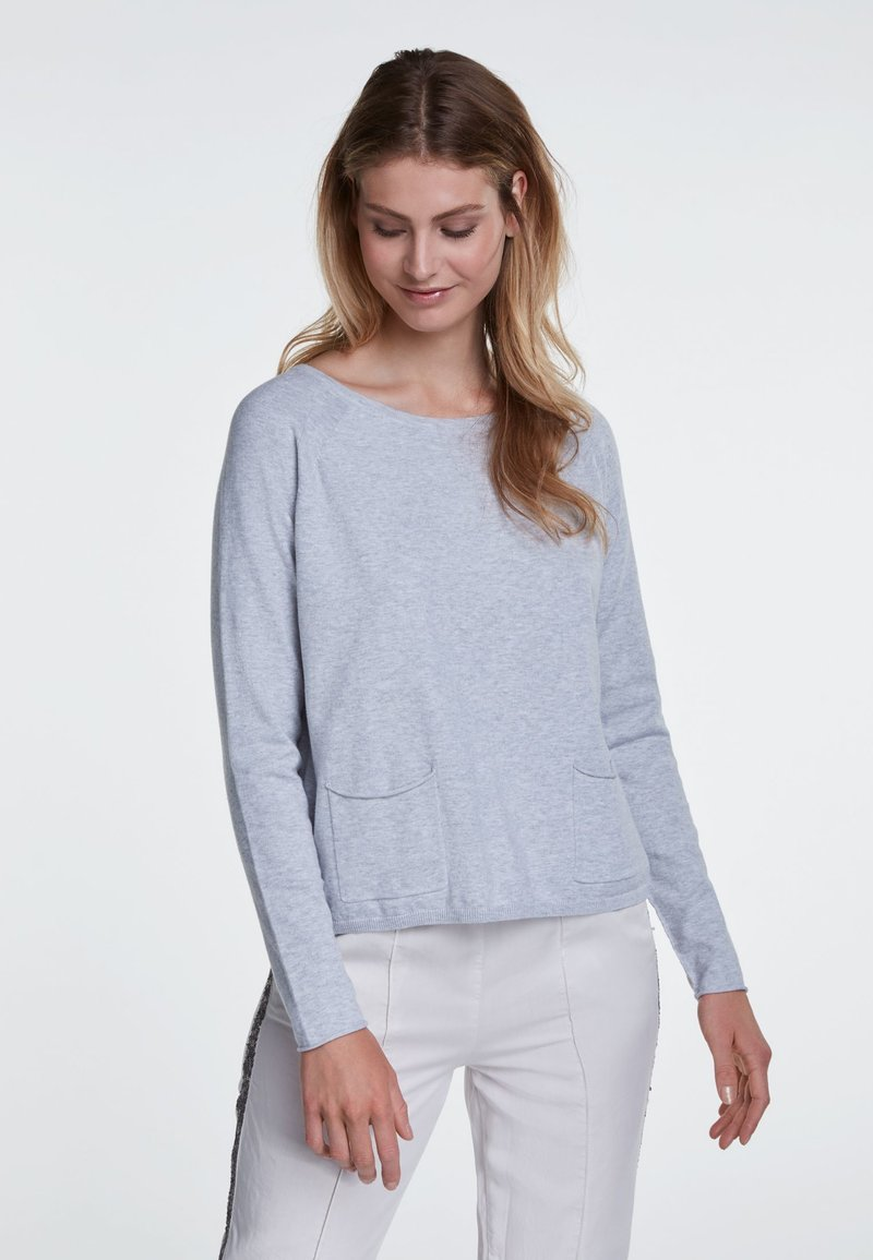 Oui - Jumper - light grey