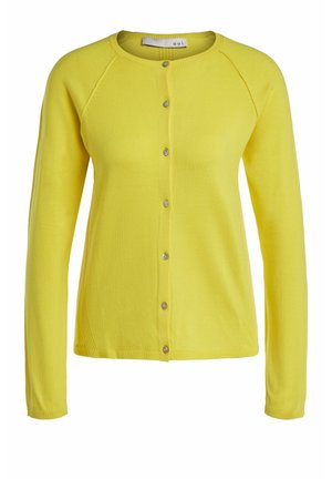 Cardigan - vibrant yellow