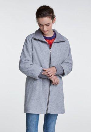 Kurzmantel - light grey