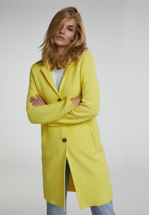 Short coat - vibrant yellow
