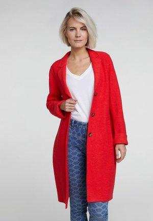 Short coat - flame scarlet