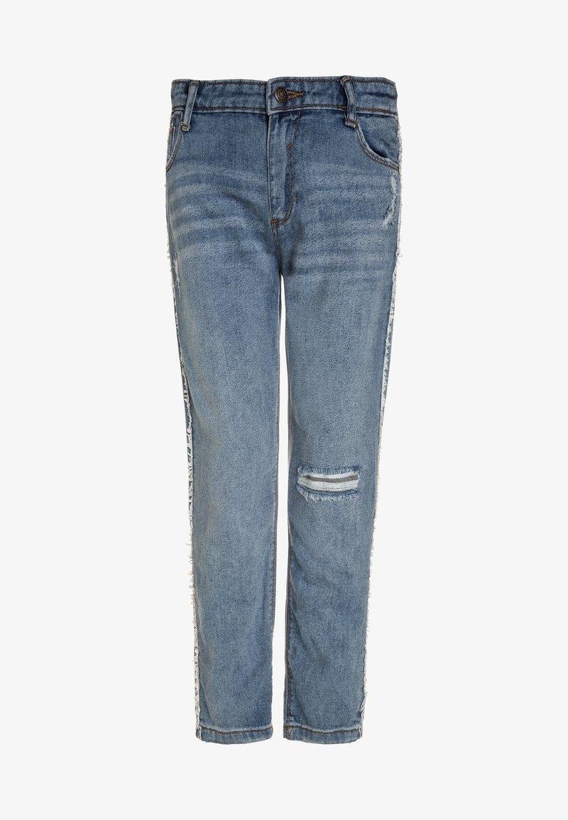 Outfit Kids - FRINGE TRIM STRAIGHT LEG  - Jeans straight leg - blu