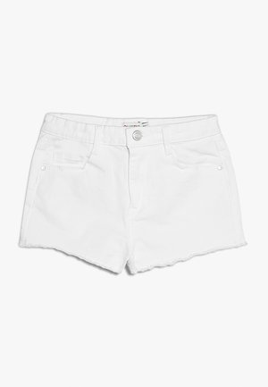 Shorts vaqueros - white denim