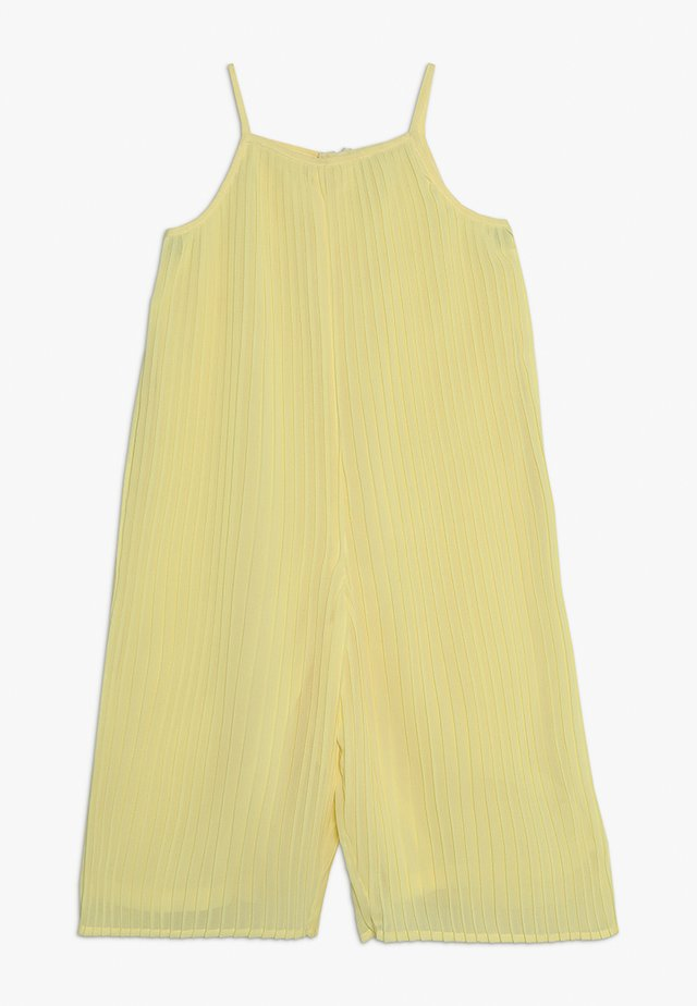 PLEATED CULOTTE - Overall / Jumpsuit - yellow