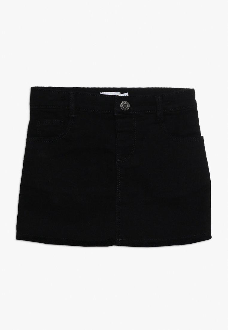 Outfit Kids - CHARCOAL SKIRT RAW HEM - Mini skirt - black