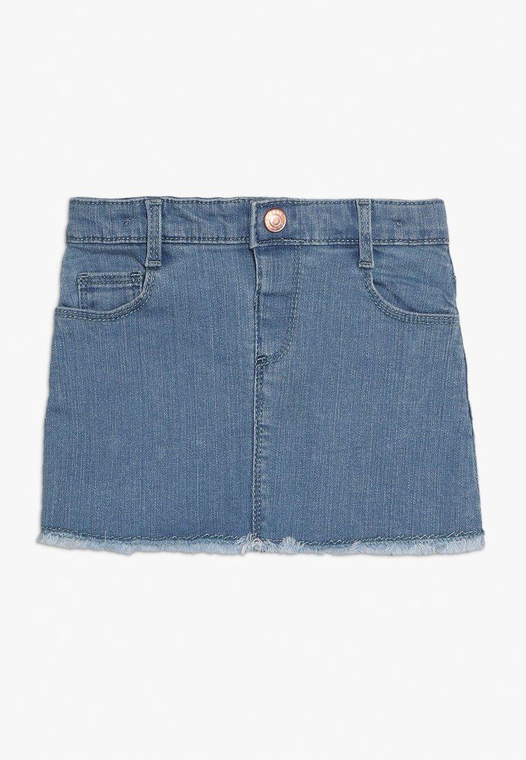 Outfit Kids - SKIRT RAW HEM - Gonna di jeans - blue denim