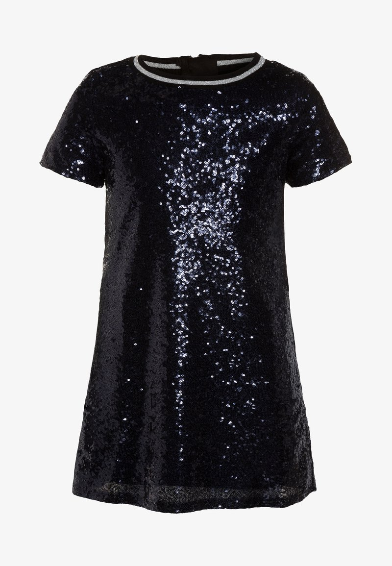 Outfit Kids - IRRIDECANT SEQUIN PARTY DRESS - Cocktail dress / Party dress - navy