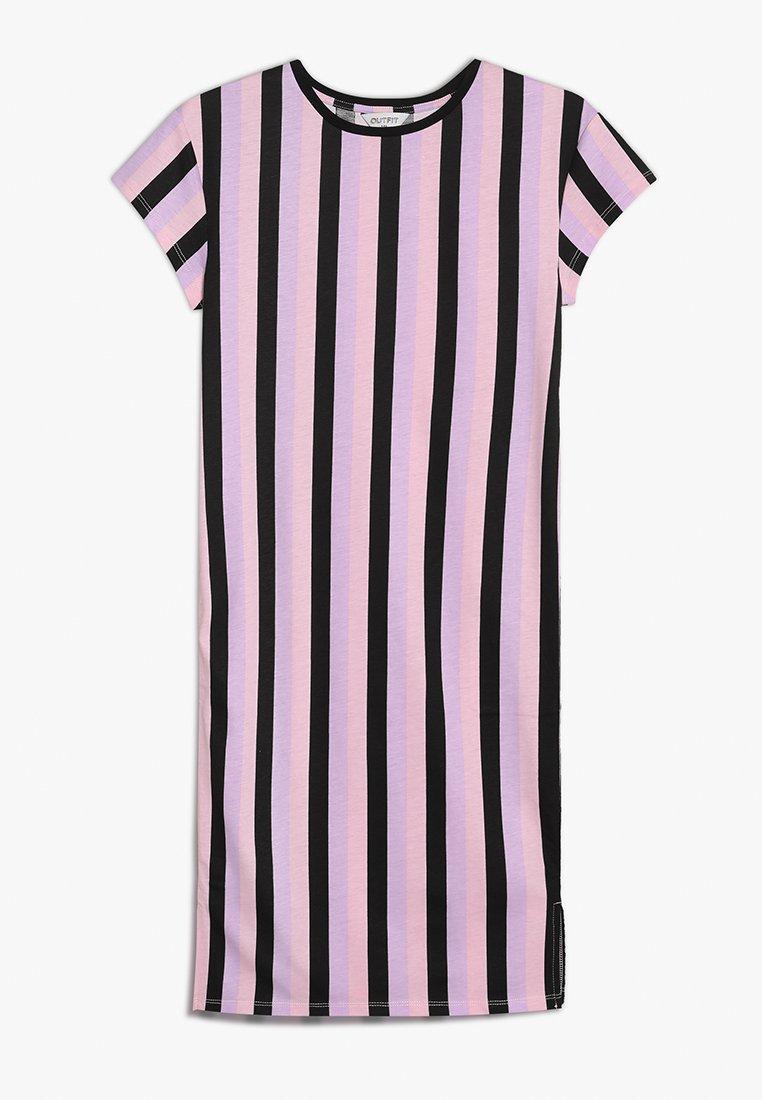 Outfit Kids - STRIPE TUBE DRESS - Žerzejové šaty - multicolor