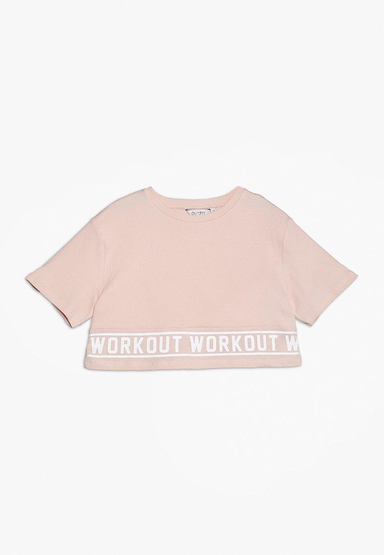 Outfit Kids - WORKOUT TEE - T-Shirt print - pink