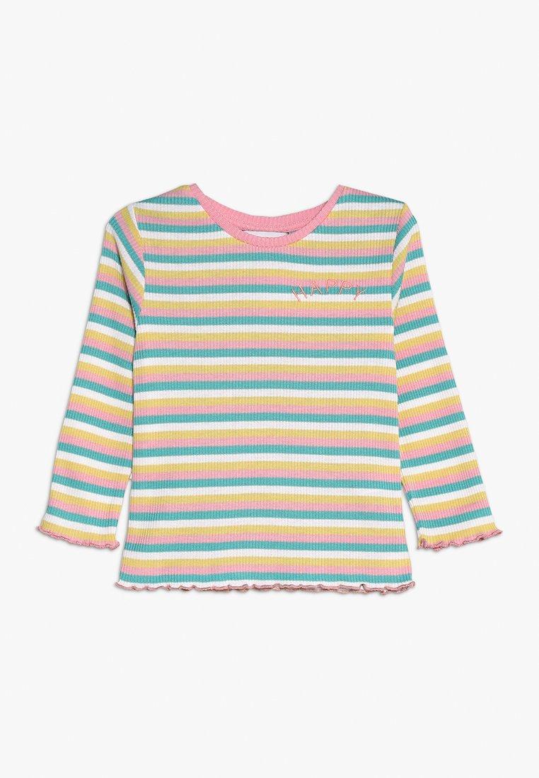 Outfit Kids - STRIPE HAPPY TEE - Long sleeved top - multi