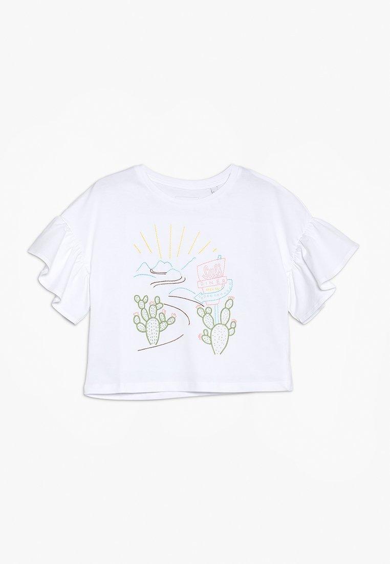 Outfit Kids - EMBROIDERED ROAD TRIP TEE - Triko spotiskem - white